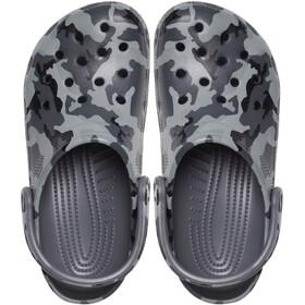 Crocs Classic Printed Camo Clogs, slate grey/multi